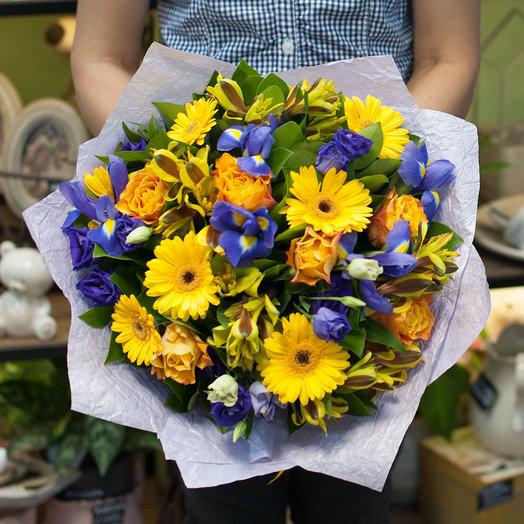 Букет цветов Сан Франциско: букеты цветов на заказ Flowwow