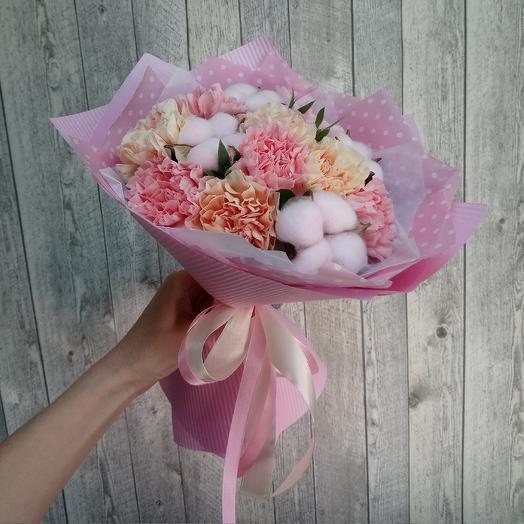 Нежнее нежного, сборный букет: букеты цветов на заказ Flowwow