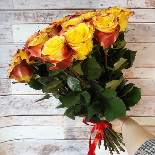 25 роз хай-меджик: букеты цветов на заказ Flowwow