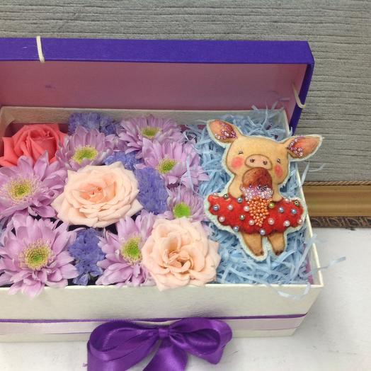 Люблю мороженое: букеты цветов на заказ Flowwow