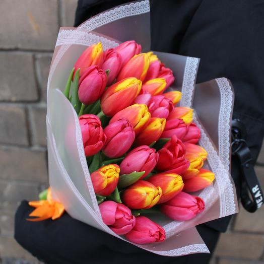 Тысяча поцелуев: букеты цветов на заказ Flowwow