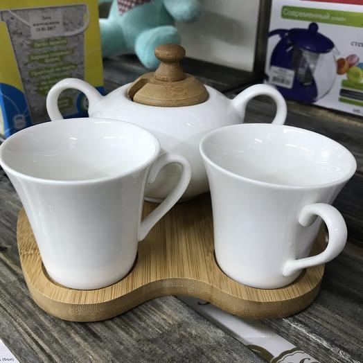 Чайный набор 💜: букеты цветов на заказ Flowwow