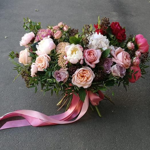 Большой стильный букет: букеты цветов на заказ Flowwow