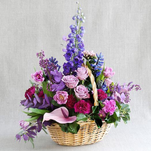 """Композиция """"Для Водолея"""": букеты цветов на заказ Flowwow"""