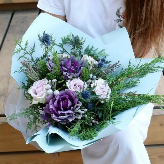 Иностранный язык: букеты цветов на заказ Flowwow