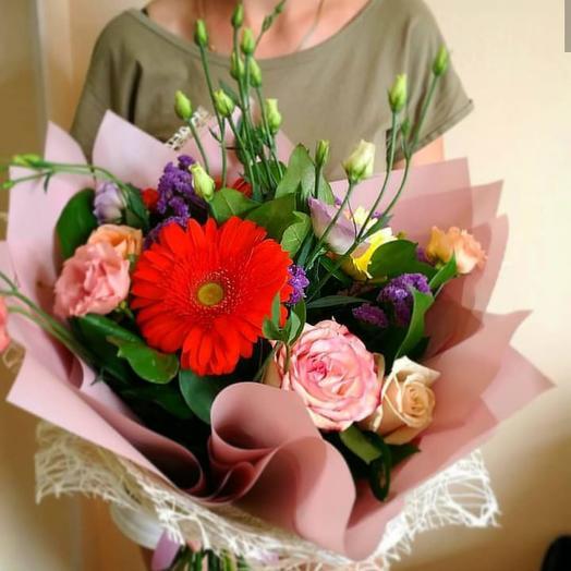 Букет к 1 сентября  5: букеты цветов на заказ Flowwow