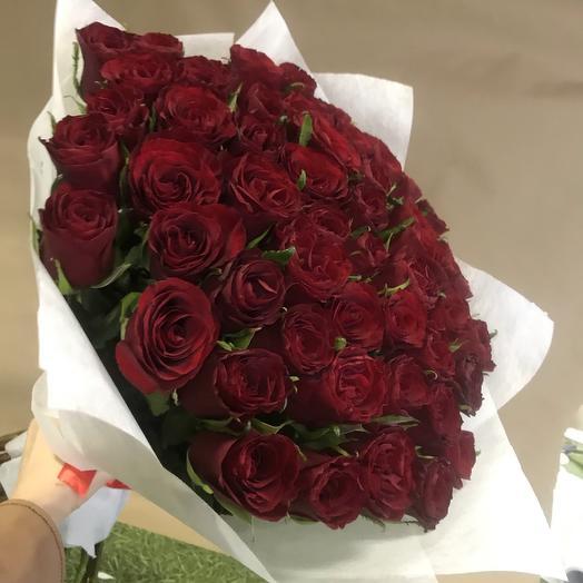 Роза 51: букеты цветов на заказ Flowwow
