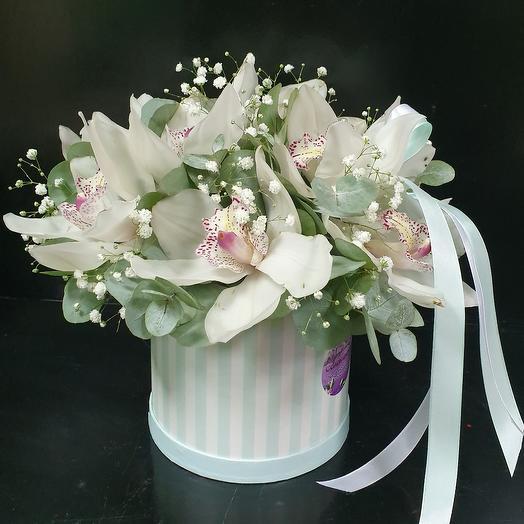 Коробочка Экзотика: букеты цветов на заказ Flowwow