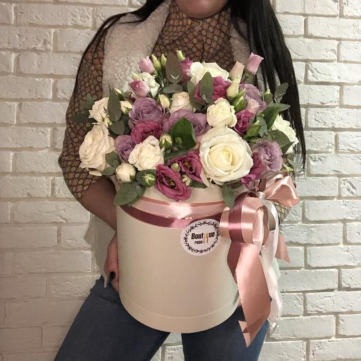 Sweet Box M: букеты цветов на заказ Flowwow