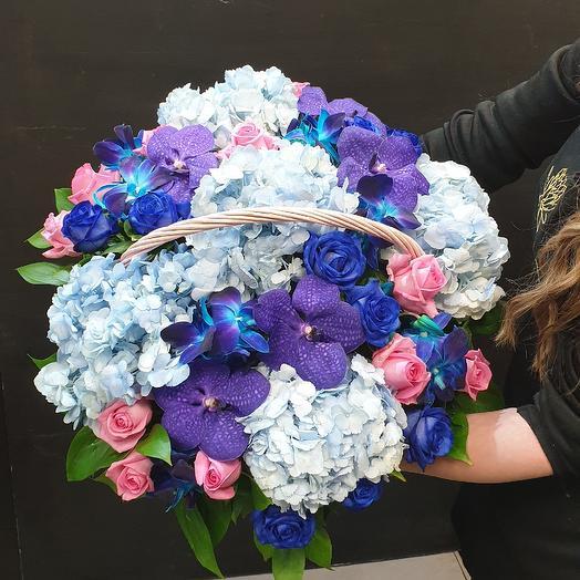 Цвет настроения 💙: букеты цветов на заказ Flowwow
