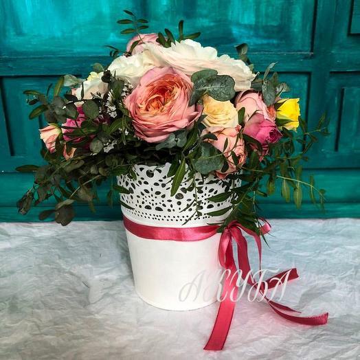 Букет «Все розы»