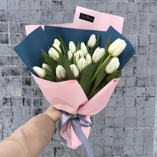 Хрустящие тюльпаны в стильной упаковке