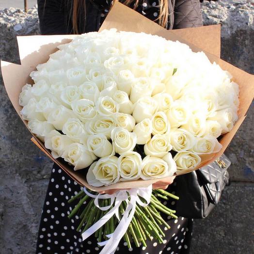 Белый лучик: букеты цветов на заказ Flowwow