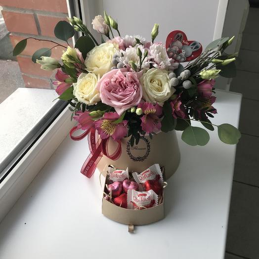14 февраля номер 8: букеты цветов на заказ Flowwow