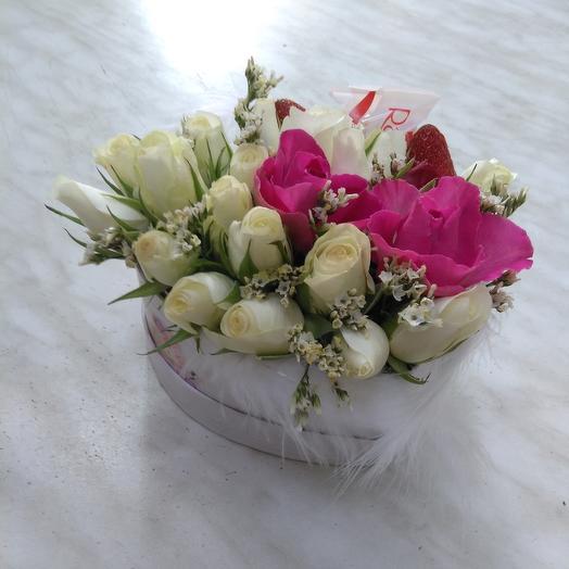 С любовью о любви: букеты цветов на заказ Flowwow