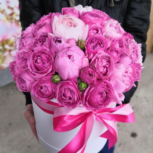 VIP Пионово-пионовидный: букеты цветов на заказ Flowwow