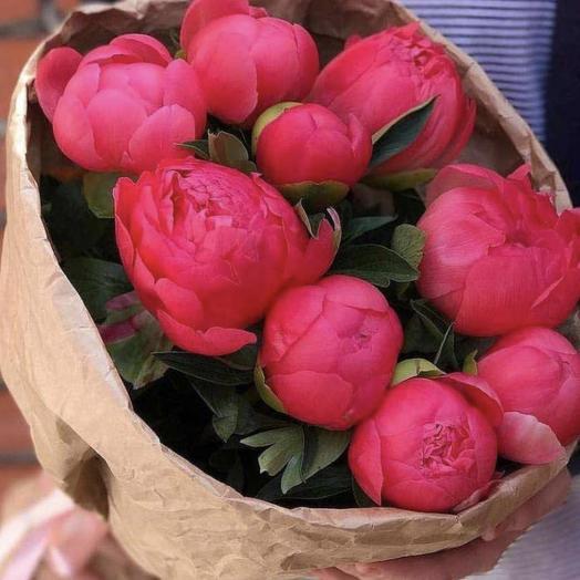 Супер пиончики: букеты цветов на заказ Flowwow