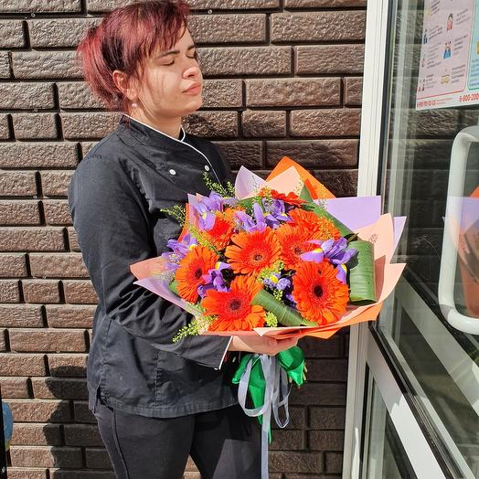 Яркий букетик: букеты цветов на заказ Flowwow