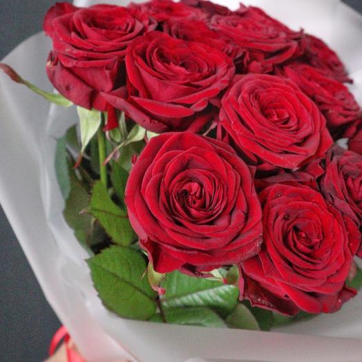 Классические красные розы
