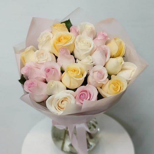 *25 роз Эквадор