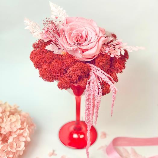 Коктейль поцелуй розы