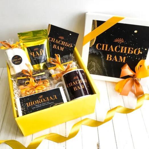"Подарочный набор DREAMBOX мужской ""СПАСИБО"""