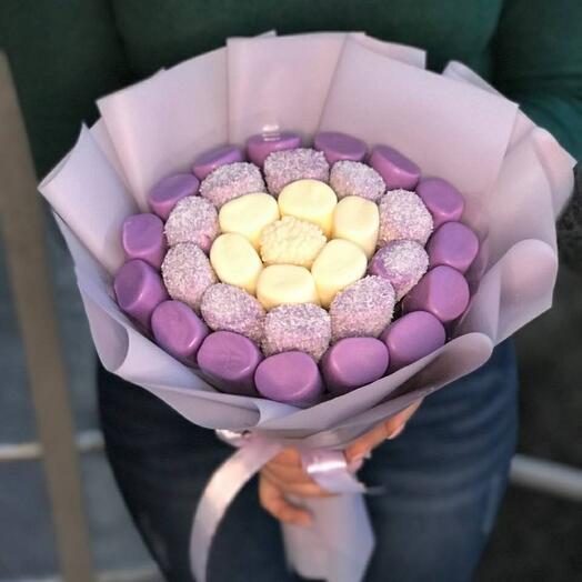 Маршмелоу 🍡 в бельгийском шоколаде 🍫 со вкусом черники