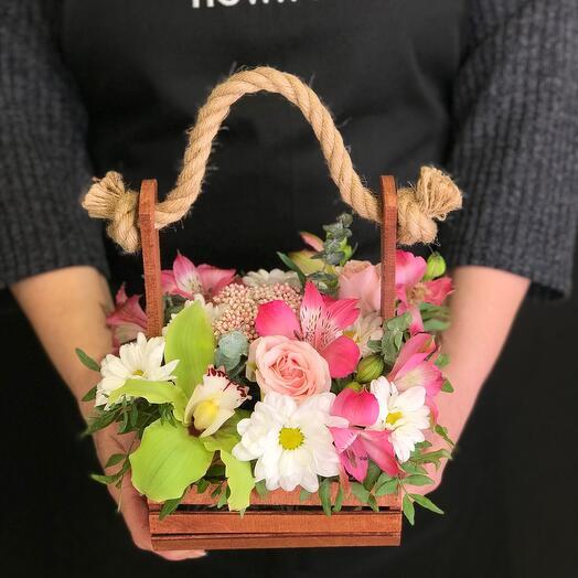 Полянка свежих цветов