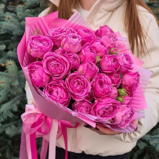 Пионовидные розы 💖