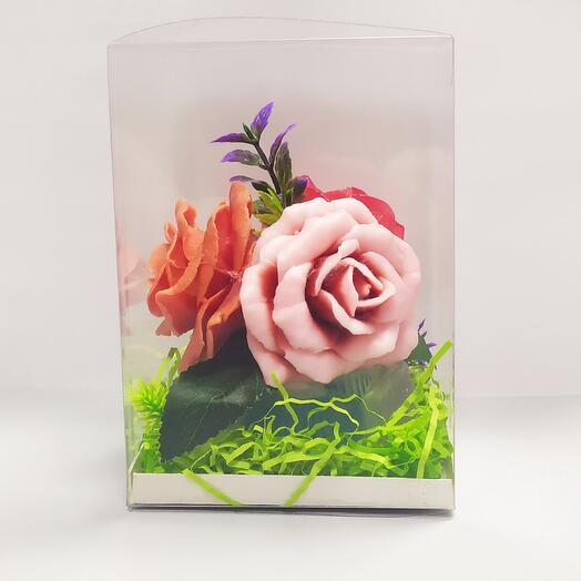 """Мыло """"Розы в корзине"""""""
