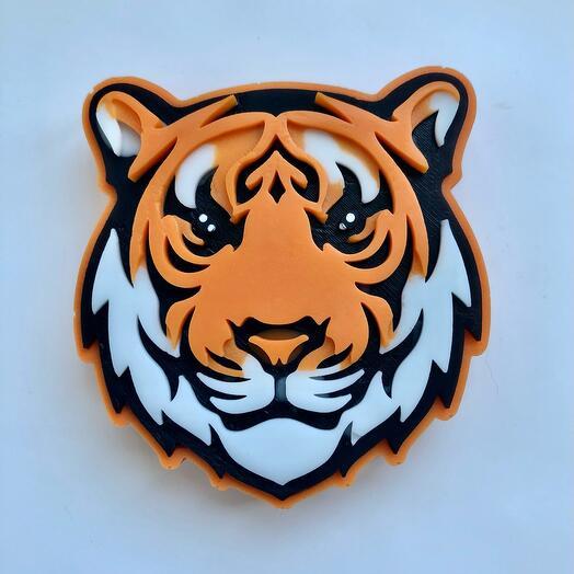 Мыло ручной работы тигр