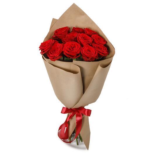 Букет из 11 красных роз Поцелуй меня