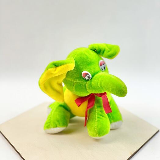 Зеленый слон
