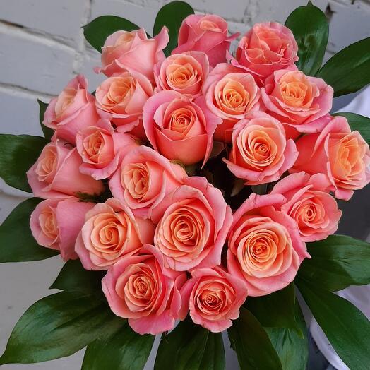 21 кораловая роза