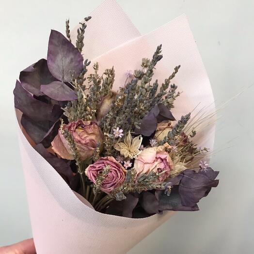 Букет с сухоцветами 3