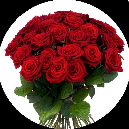 31 Красная роза: букеты цветов на заказ Flowwow