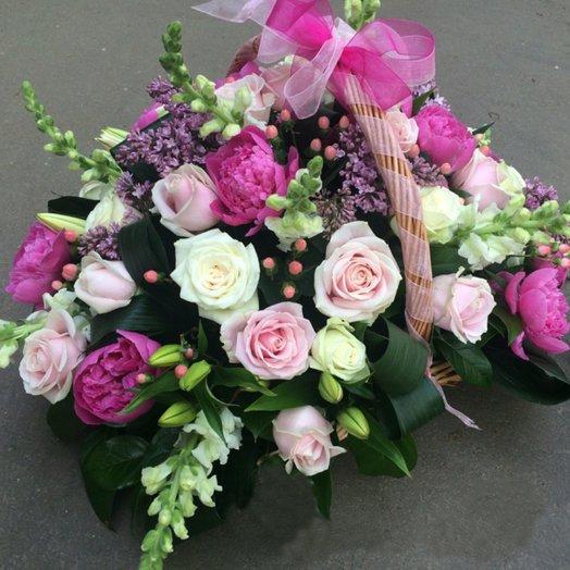 Розовое облако / The pink c oud: букеты цветов на заказ Flowwow