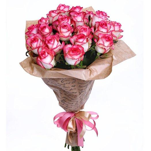 Ароматные розы по акционной цене!: букеты цветов на заказ Flowwow