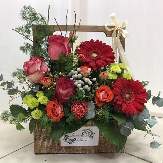 Подарочная композиция: букеты цветов на заказ Flowwow