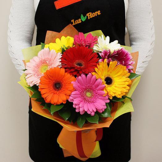 Букет Солнышко Микс 9шт: букеты цветов на заказ Flowwow