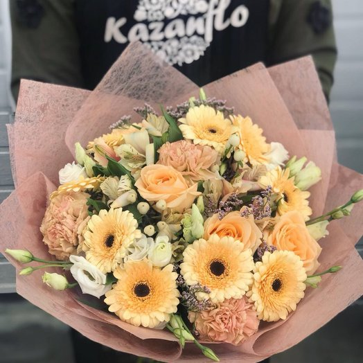 Кофейная пенка: букеты цветов на заказ Flowwow