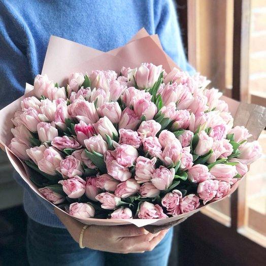 79 Тюльпанов: букеты цветов на заказ Flowwow