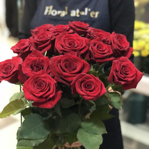 Букет из 15ти красных роз