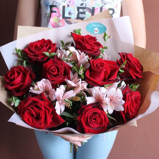 Приятный сюрприз: букеты цветов на заказ Flowwow