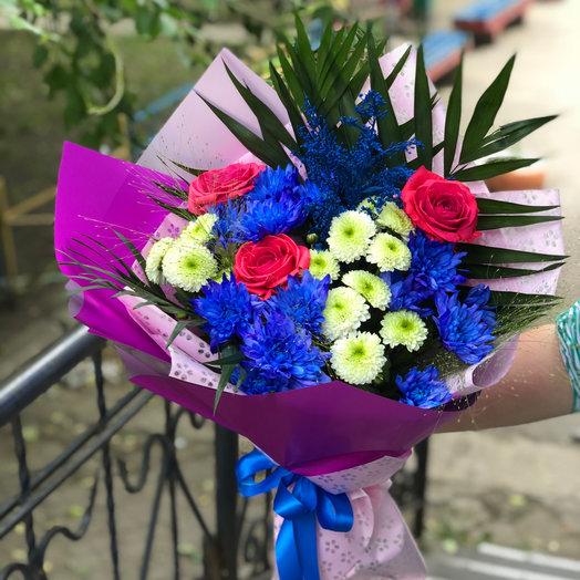 Яркие краски лета: букеты цветов на заказ Flowwow