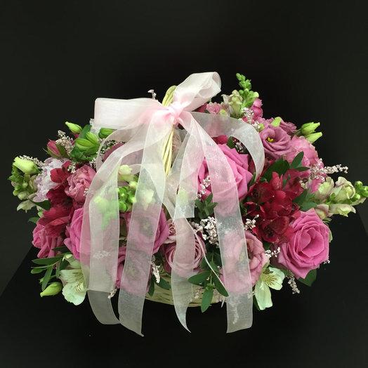 Розовая фантазия : букеты цветов на заказ Flowwow