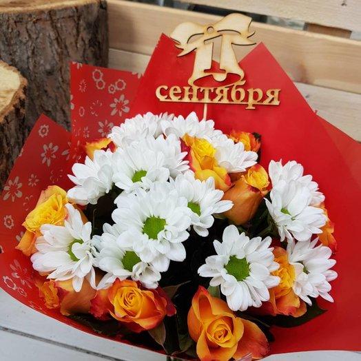 Букет учителю: букеты цветов на заказ Flowwow