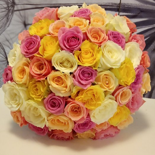 """"""" Безумство Красок """": букеты цветов на заказ Flowwow"""