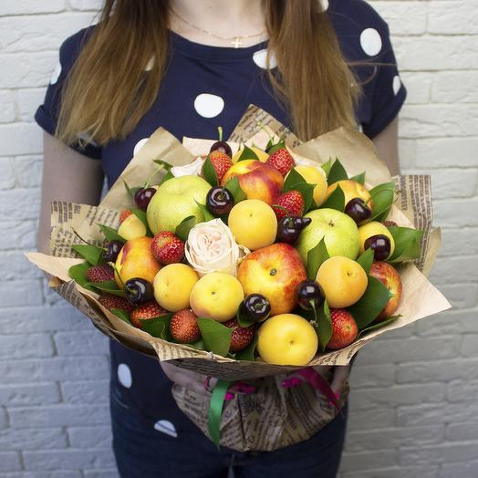 Фруктовый букет 537: букеты цветов на заказ Flowwow