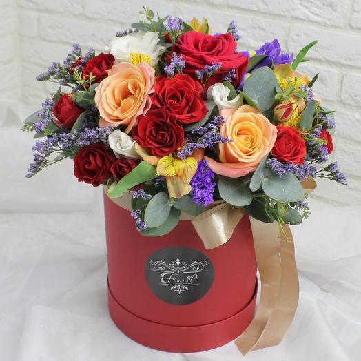 Венецианский вечер: букеты цветов на заказ Flowwow